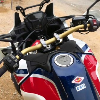 Moto Pied b/équille lat/érale Support Extension Pad Plaque Support pour Honda Crf1000l Africa Twin 2016/2017/2018